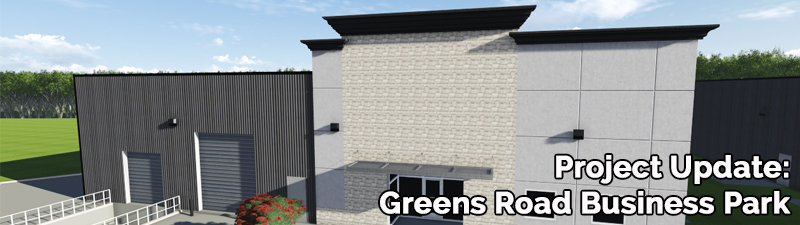 Project Update – Greens Road Business Center