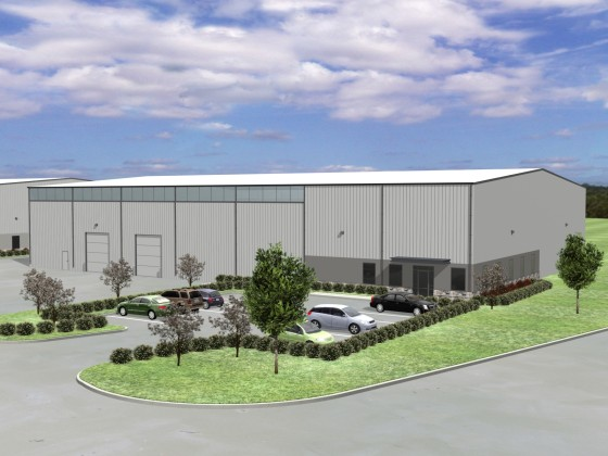 Pasadena- Houston Industrial Development One- Rendering-1